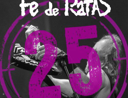 Fe de Ratas «Que desidia! (Directo 25º Aniversario)», nuevo single