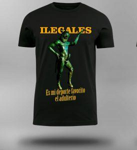 Camiseta Ilegales