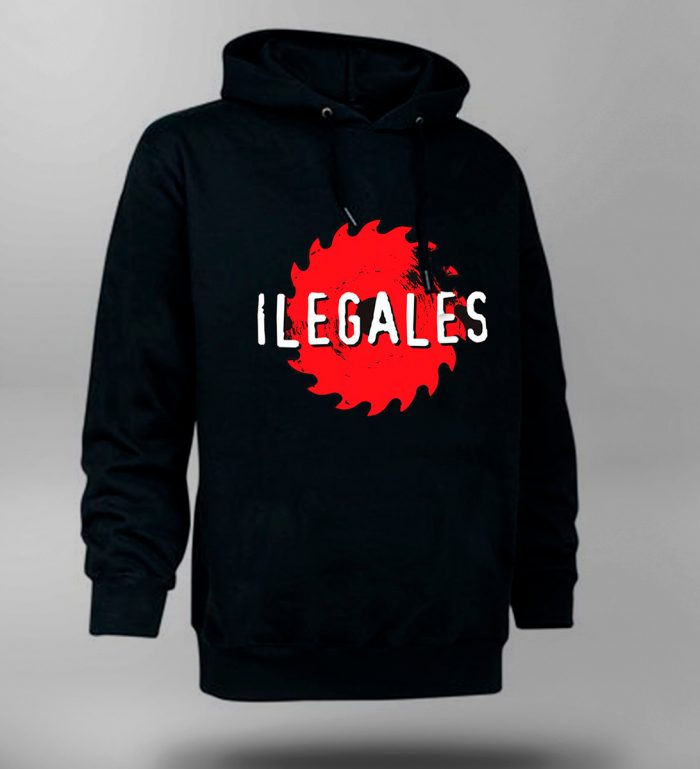 Sudadera Ilegales