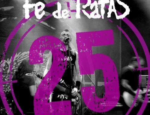 Fe de Ratas «El laberinto de la existencia (Directo 25º Aniversario)», nuevo single
