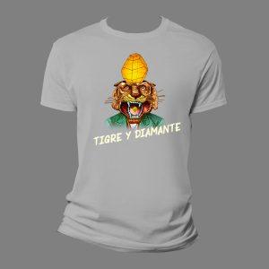 camiseta Tigre y Diamante