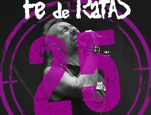 Fe de Ratas «¡Chitón! (Directo 25º Aniversario)», nuevo single