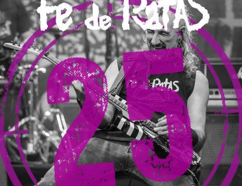 Fe de Ratas «Soy la ley (Directo 25º Aniversario)», nuevo single
