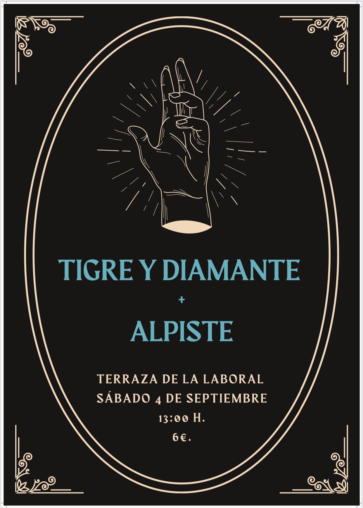 Tigre y Diamante Gijon 4 septiembre