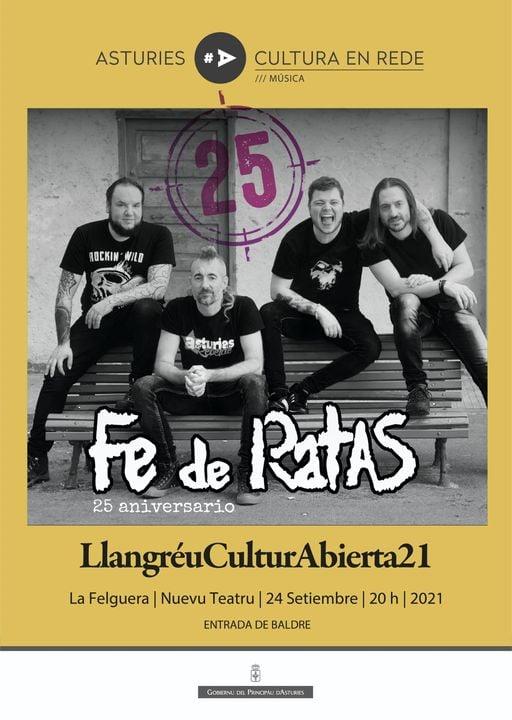 Fe de Ratas en Langreo el 24 de septiembre.